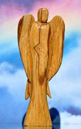 ENGEL , Engel aus heiligem Holz
